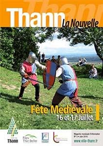 couverture magazine de thann juillet 2016