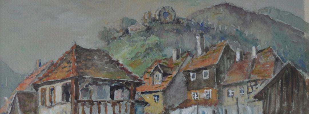 Peinture de Thann