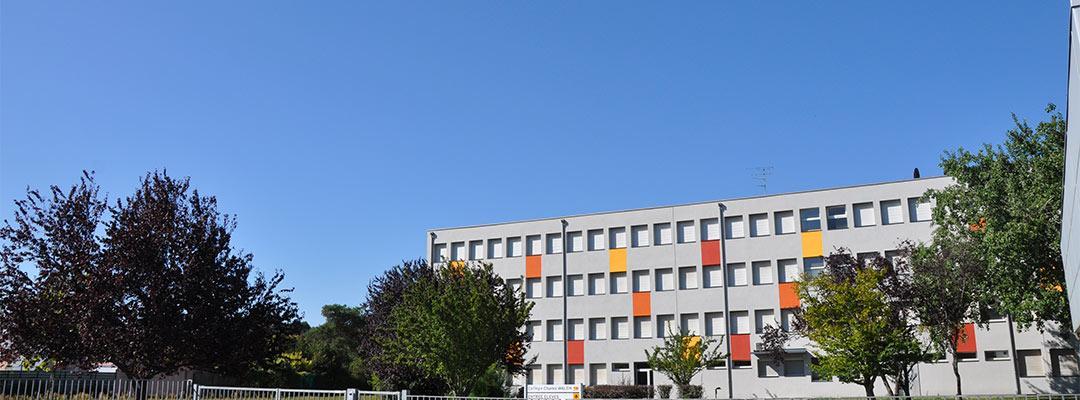 Façade du college Walch Thann
