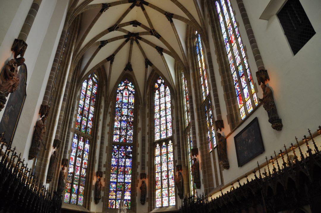 vitraux de la collegiale de thann