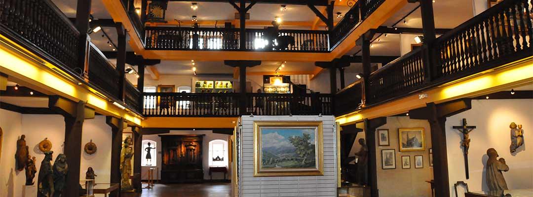 vue interieure du musee des amis de thann