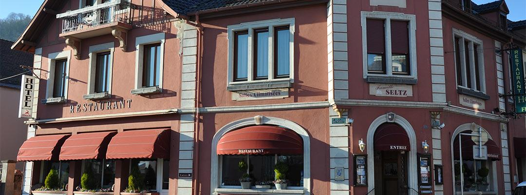 façade de restaurant à Thann