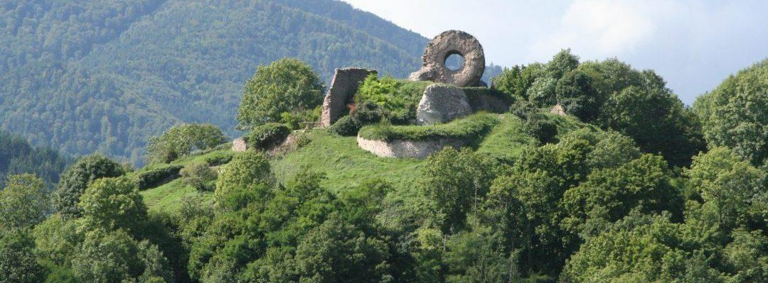Chemin des châteaux forts d'Alsace