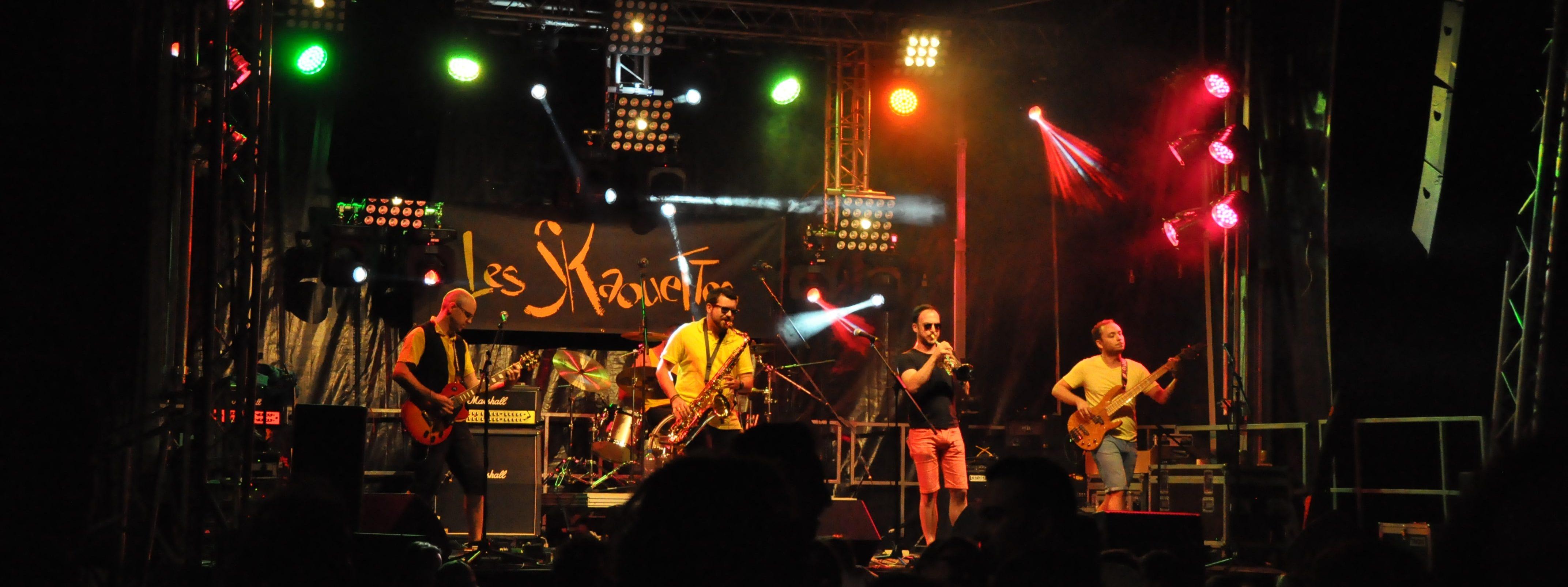 Concert d'un groupe de jazz