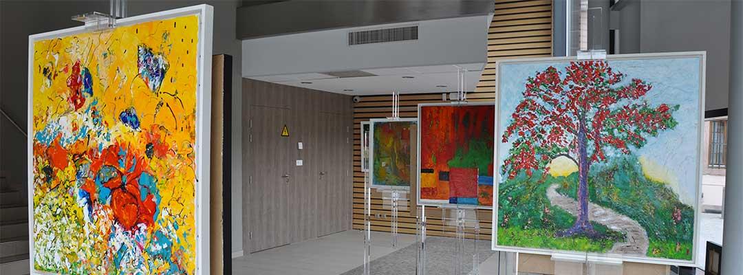 Exposition hall hôtel de ville Thann
