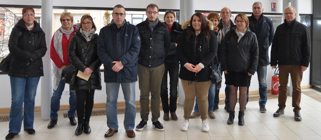 equipe des agents recenseur de la ville de Thann