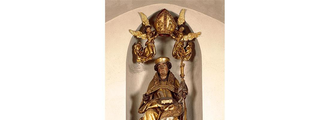 Statue de Saint Thiebaut