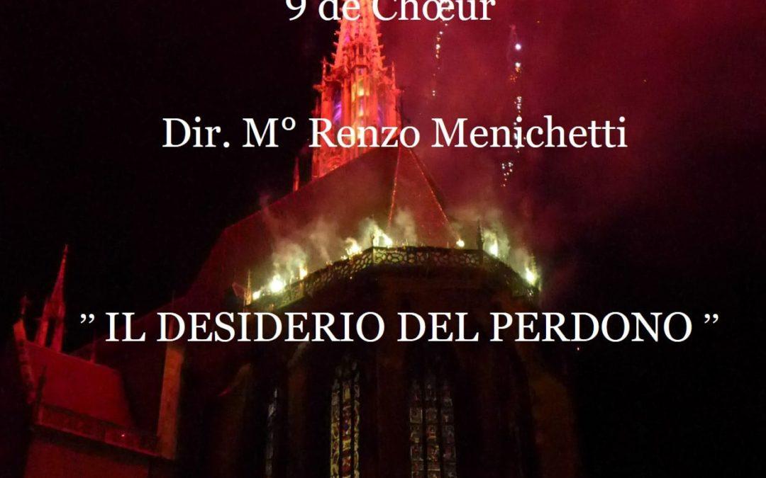 Concert du Choeur de Gubbio et 9 de Choeur