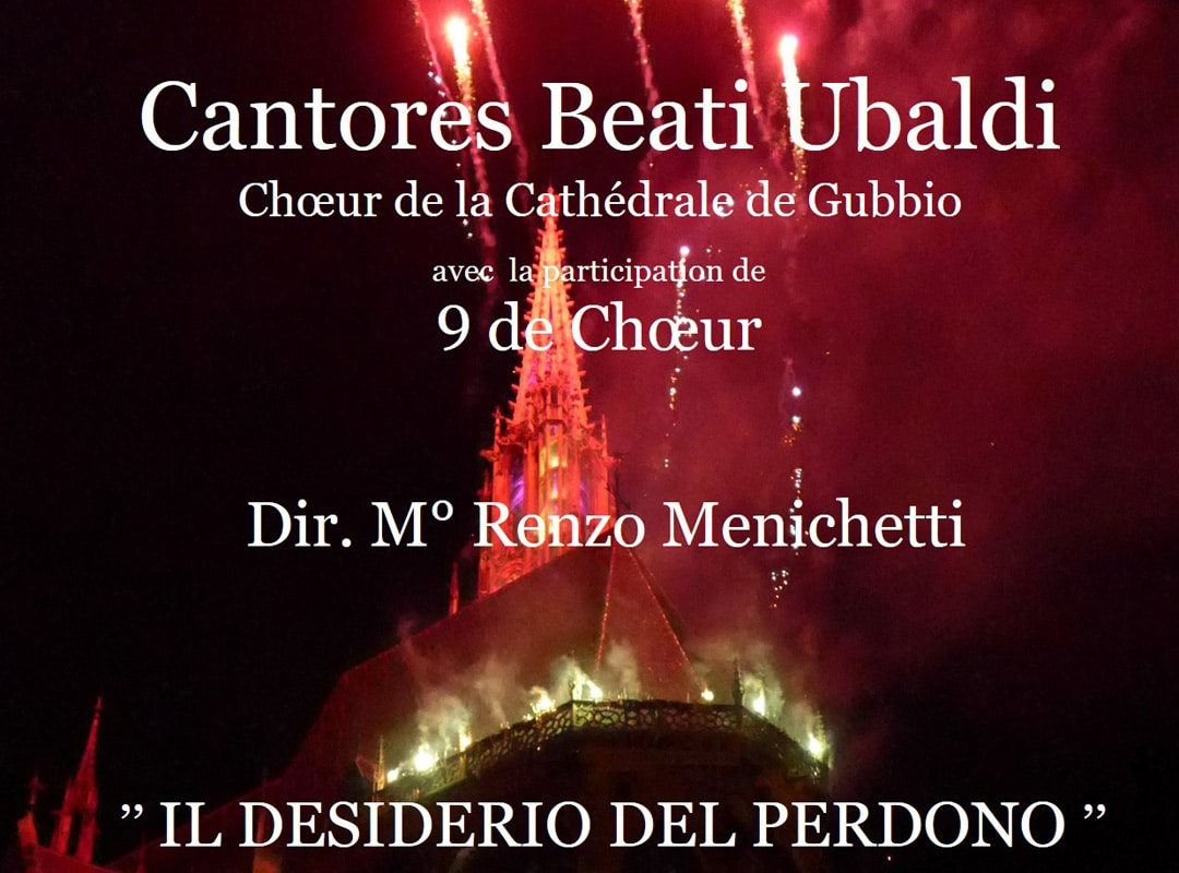 Concert Choeur de Gubbio