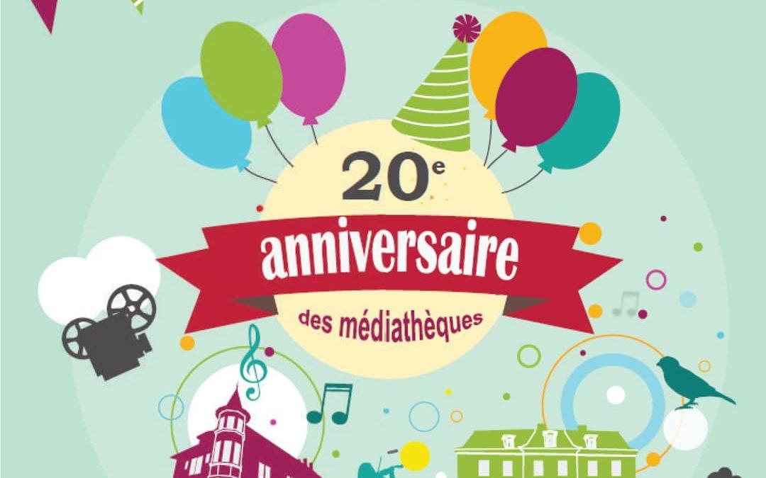 La Médiathèque fête ses 20 ans !