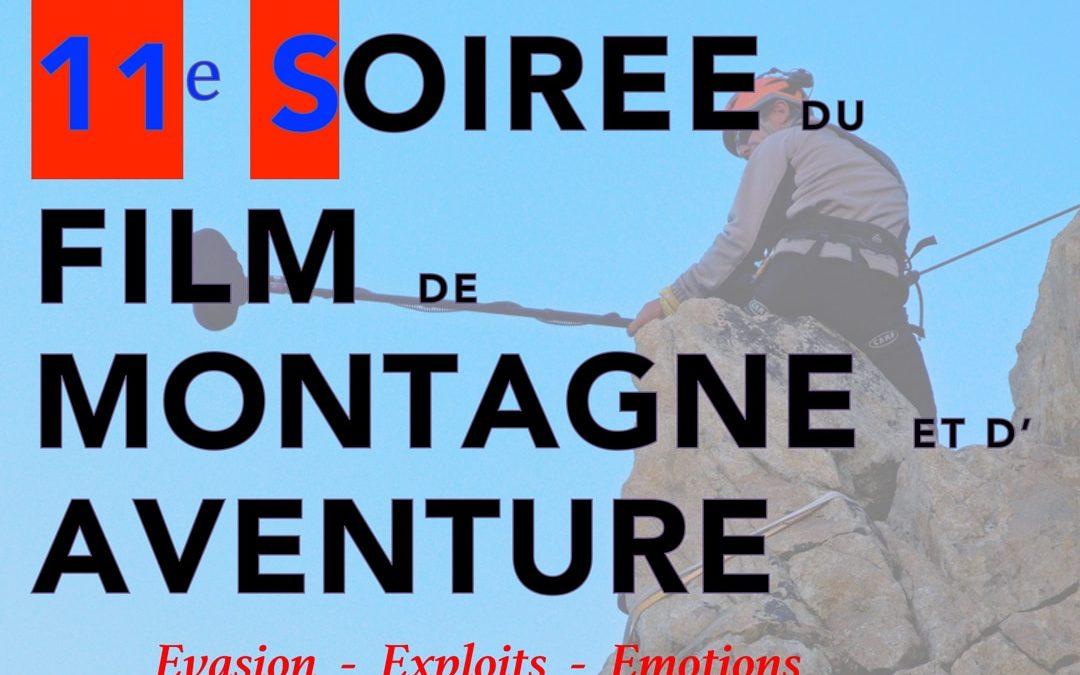 11ème soirée du film de montagne et d'aventure
