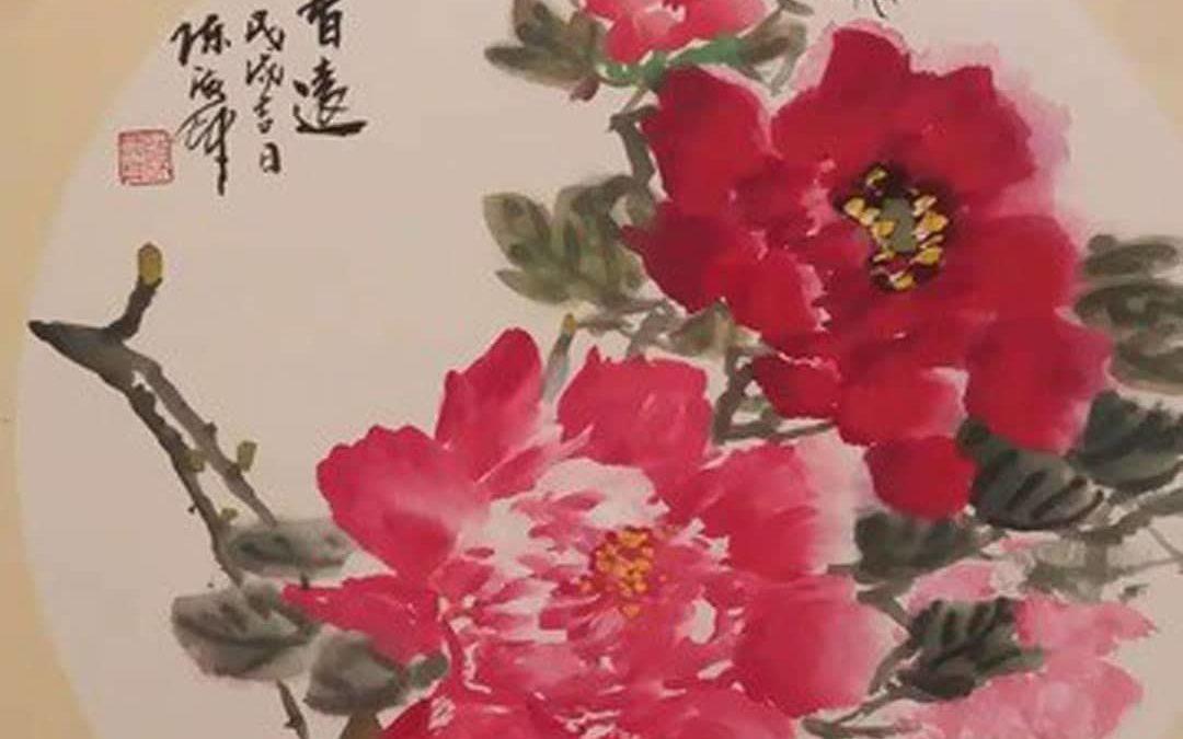 Exposition de peintures chinoises