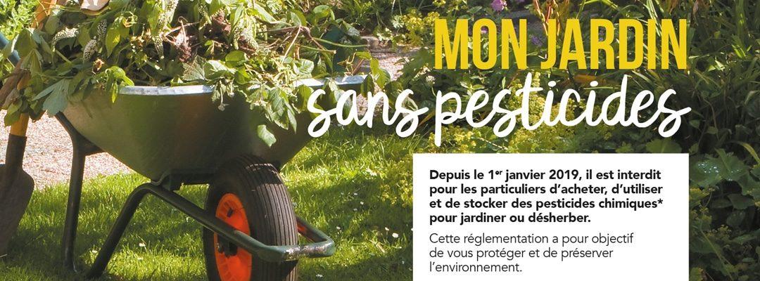 Campagne «Zéro pesticide» pour les particuliers