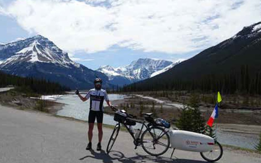 Conférence «Ma traversée» du Canada à vélo