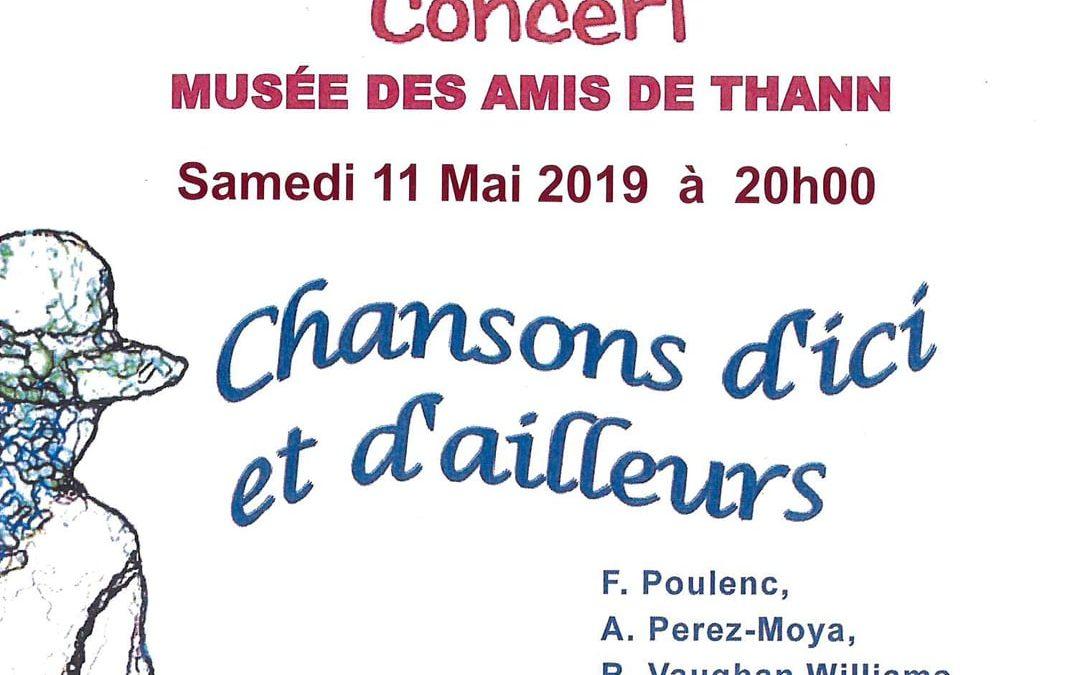Concert au Musée des Amis de Thann
