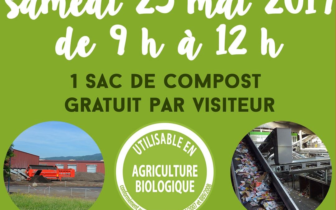 Portes ouvertes plateforme de compostage