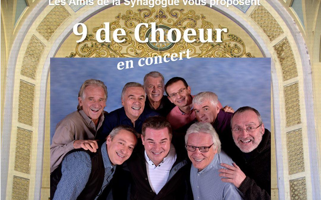 Concert «9 de Choeur»