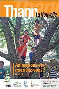 couverture magazine ville de thann juin 2019