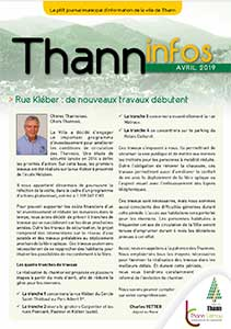 couverture thann-info-avril 2019