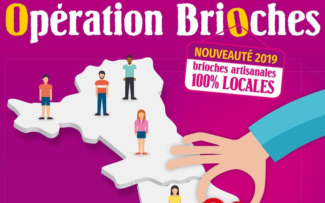 Opération Brioches 2019