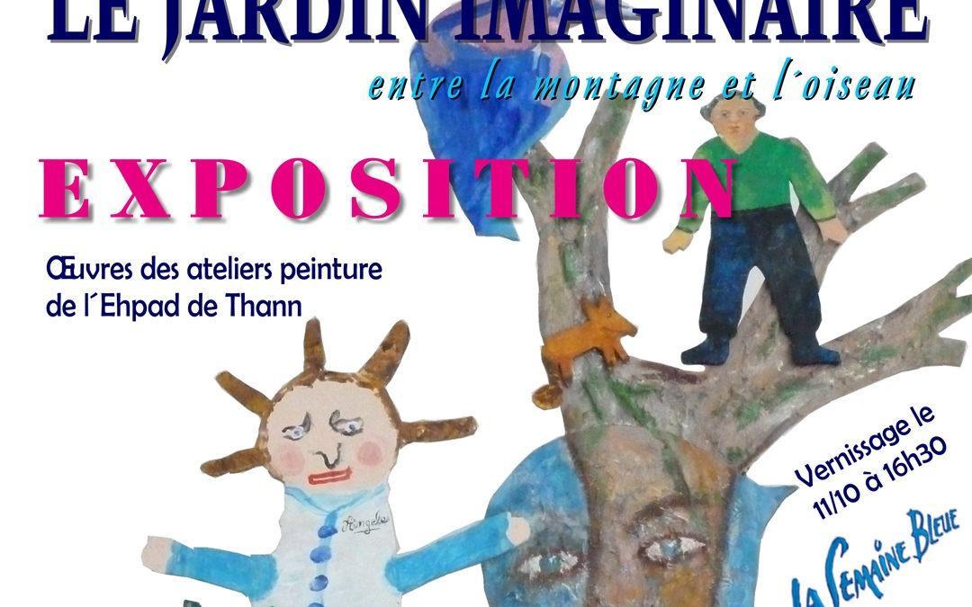 Exposition «Le jardin imaginaire, entre la montagne et l'oiseau»
